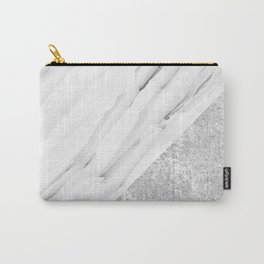 Grey / White Marble Carry-All Pouch