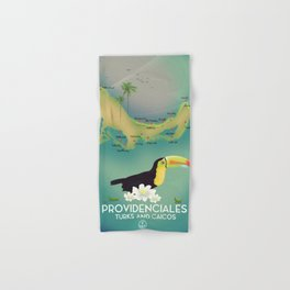 Providenciales turks and caicos Hand & Bath Towel