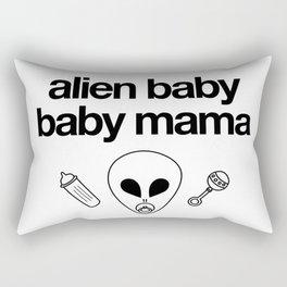Alien Baby Baby Mama Rectangular Pillow