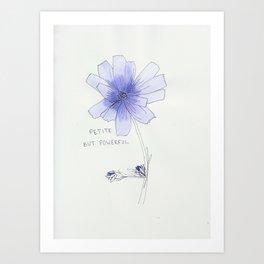petite but powerful Art Print