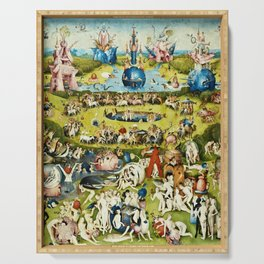 Hieronymus Bosch - The Garden Of Earthly Delights Serving Tray