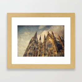Cologne Cathedral Framed Art Print