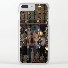 Athens XII Clear iPhone Case