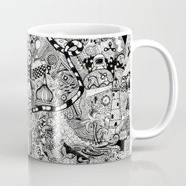 sea to space zentangle Coffee Mug