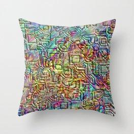 Cryptic 1 Throw Pillow