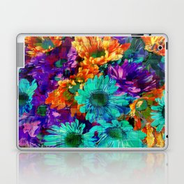 Colored Daisies Laptop & iPad Skin