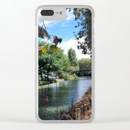 Canal du Midi Clear iPhone Case