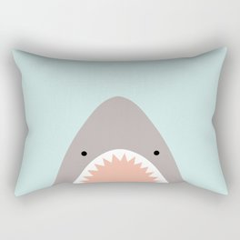 shark attack Rectangular Pillow