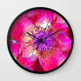 Dream Rose Wall Clock