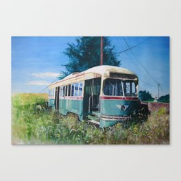 Final Stop Canvas Print