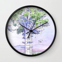 La Citta' albero... Wall Clock