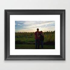 Happily Ever After Framed Art Print