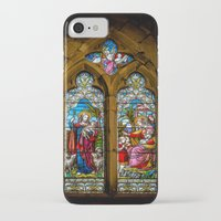 silence of the lambs iPhone & iPod Cases featuring The Lambs by Adrian Evans
