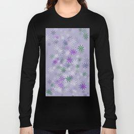 Lavander glow flower power Long Sleeve T-shirt