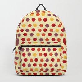 Ikat Pattern (Polka Dots) Backpack