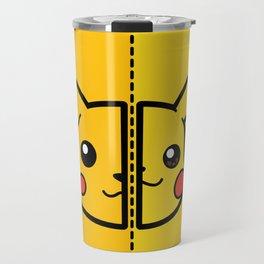 Old & New Pocketmonster Travel Mug