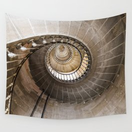 Lighthouse Spiral staircase Wall Tapestry