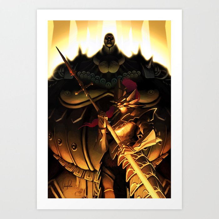 Slayer and Executioner Art Print