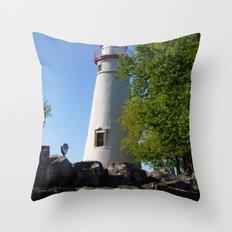 Lighthouse 2 Throw Pillow
