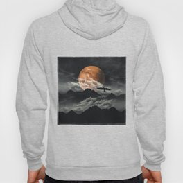 Spaces III - Mars above mountains Hoody