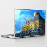 library Laptop & iPad Skins featuring The Library by Andy Burgess