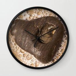 Heart of Goleta Beach Wall Clock