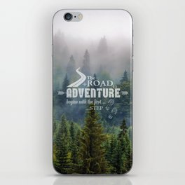 The Road To Adventure iPhone Skin