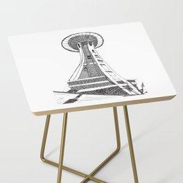 Seattle Space Needle Side Table