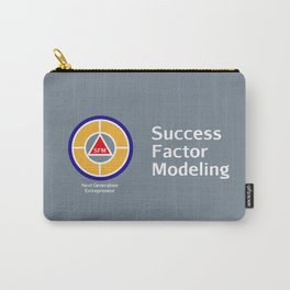 Success Factor Modeling Logo Carry-All Pouch