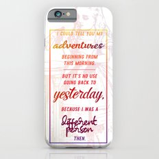 i could tell you my adventures...  iPhone 6s Slim Case