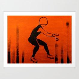 Manhattan Mayhem Art Print