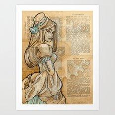The Iron Woman 9 Art Print