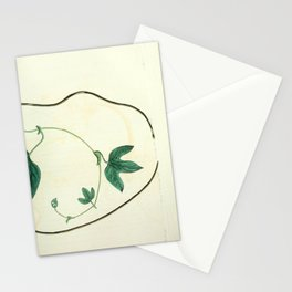 Flower 1453 aristolochia caudata Livid flowered Birthwort 216 Stationery Cards