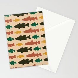 Simply Fresh Fish Stationery Cards