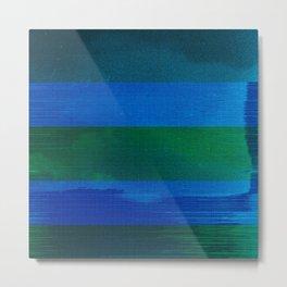 waves (03) Metal Print