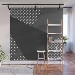 Grey abstract abstract Wall Mural