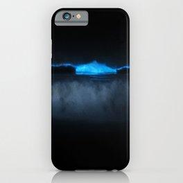 bioluminescent ocean iPhone Case