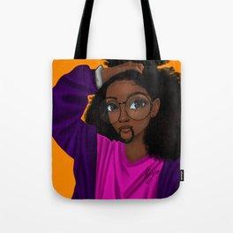 hair up Tote Bag