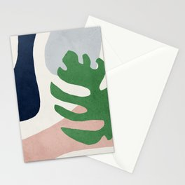 Abstract art, Mid century modern wall art Stationery Cards
