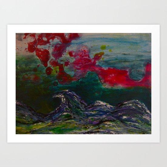 Jeg Snakker Ikke Norsk Art Print