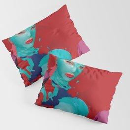 tea lilly Pillow Sham