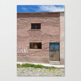 Bolivia door 4 Canvas Print
