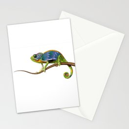 The Chameleon (Colored) Stationery Cards