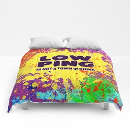 Low-Ping Comforters