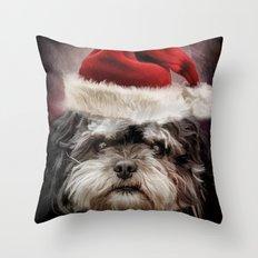 Cute Santa Throw Pillow