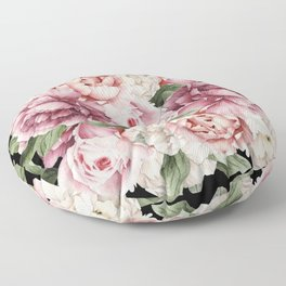 Peony Power Floor Pillow