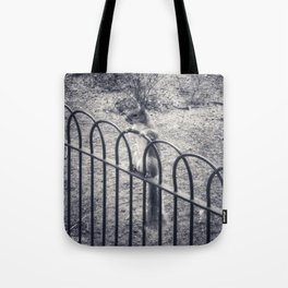 The Lonely Squirrel Tote Bag
