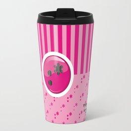 Pink Writer's Mood Travel Mug