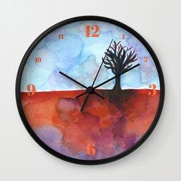 In Limbo - Cinnabar Wall Clock
