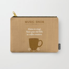 Coffee Coasters — Music Snob Tip #184 Carry-All Pouch